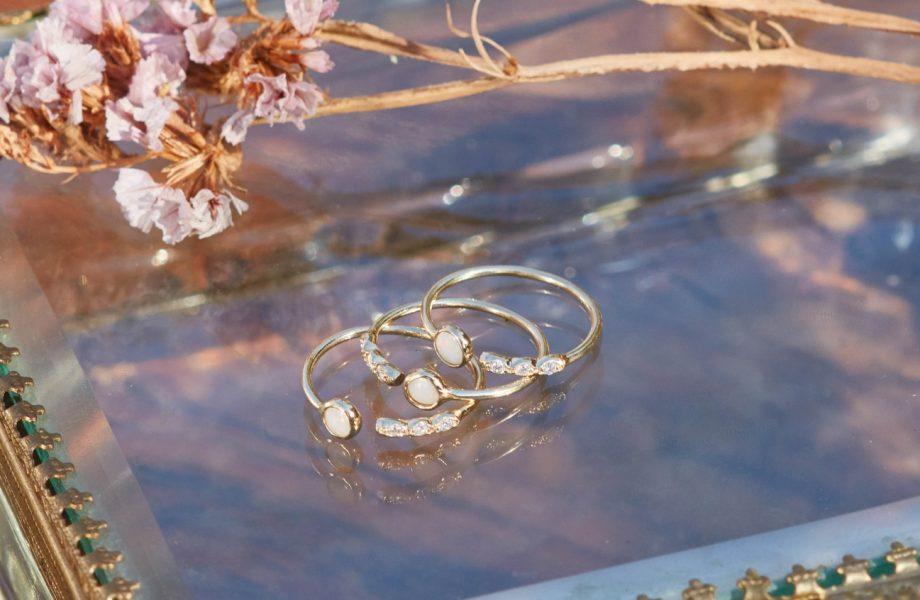 White & Gold CIRCULAR COLLECTION Vecchi pc diventano gioielli