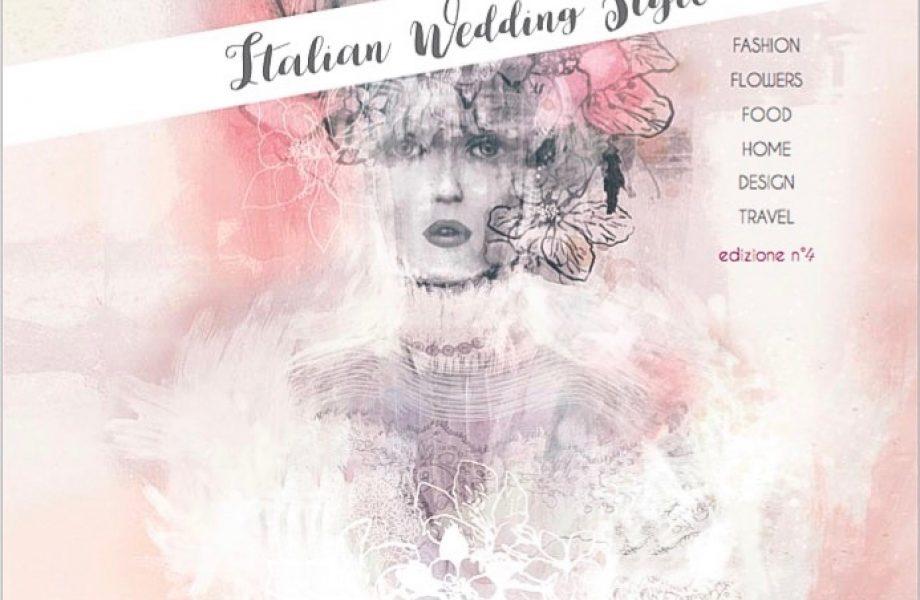 White & Gold Italian Wedding Style